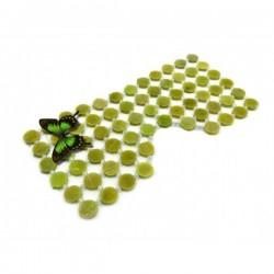 MASCA FACIALA cu 65 pietre rotunde din JAD (Frumusete, Relaxare si Regenerare pentru TOATE tipurile de TEN) + Cristal CADOU