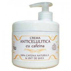 Crema Anticelulitica 500 ml cu 100% Cafeina Naturala si Unt de Shea + Cristal CADOU