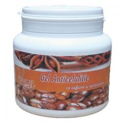 Gelul Anticelulitic 500 ml cu Scortisoara si Cafeina (100% Cafeina Pura) + Cristal