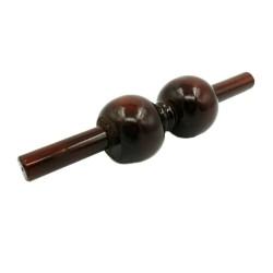 Roller / Rola Lemn (27 cm) pentru Masaj Relaxare, Anticelulitic si Drenaj + Cristal CADOU