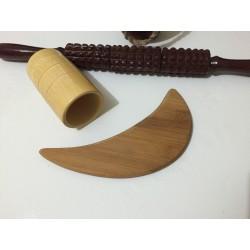 Kit Profesional 3 Piese Modelatoare / Reducatoare din LEMN MaderoTerapie / Masaj / Slimming