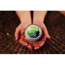 Lumanare (150 ml) pentru Masaj de Relaxare / Antistres / Purificare + Cristal Cadou