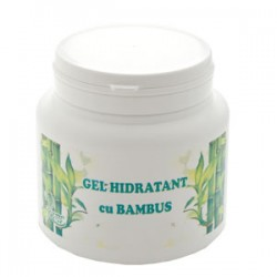 Gel cu BAMBUS pentru Hidratare, Suplete si Fermitate - 500 ml + Cristal CADOU